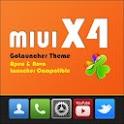 MIUI X4 Go Launcher Theme PRO 1.10