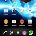 CM10.1 CM9 AOKP Sony UXP theme 1.1.2 apk