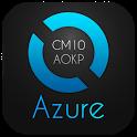 Azure Blue Theme CM10.1 AOKP 1.2.4 apk