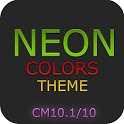 CM10.1 10 Theme Neon Colors 2.21 apk