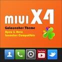 MIUI X4 Go Launcher Theme PRO 1.20 apk
