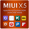 MIUI X5 HD Apex/Nova/ADW Theme v1.1.0 apk download